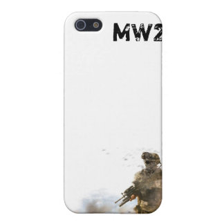 MW2 White I Phone 4 Cover 2 Case For The iPhone 5