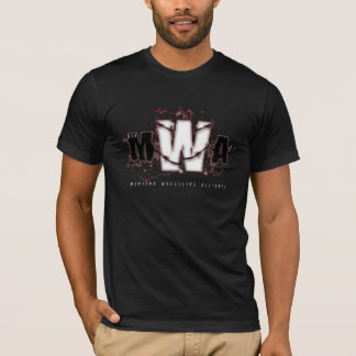 MWA - Classic (Maroon on Black) T-Shirt