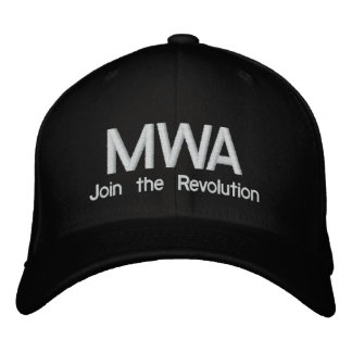 MWA hat Embroidered Baseball Caps