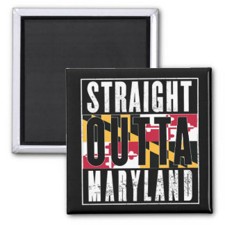MWA STRAIGHT OUTTA MARYLAND SQUARE MAGNET