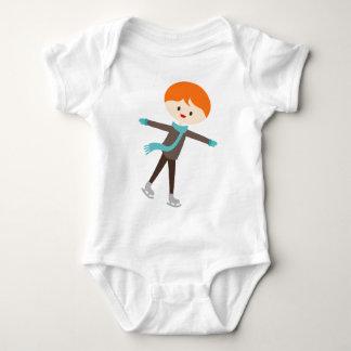 MWinterSkatersP14 Baby Bodysuit