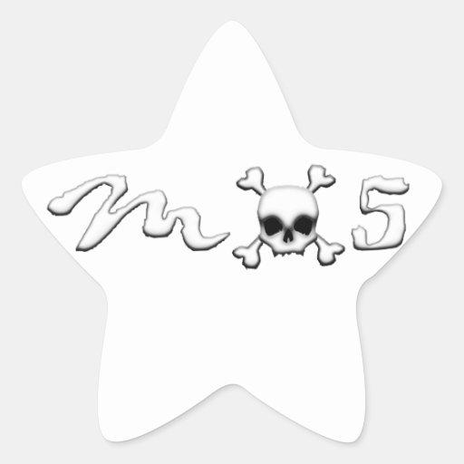 MX5 skull Stickers