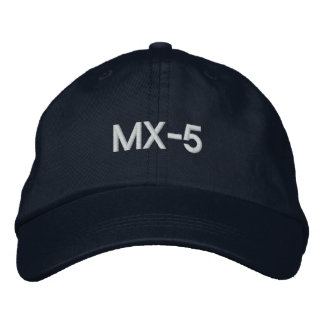 MX-5 Roadster adjustable hat Embroidered Hats