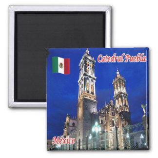 MX - Mexico - Catedral Puebla Magnet