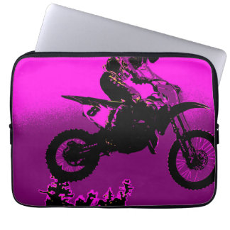 MX - Motocross Racer Laptop Sleeve