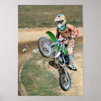 MX Racer Gets Big Air Poster
