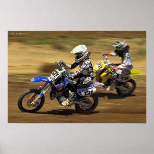 MX Racing Poster