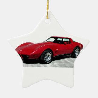 My 1979 Red Corvette Ceramic Ornament
