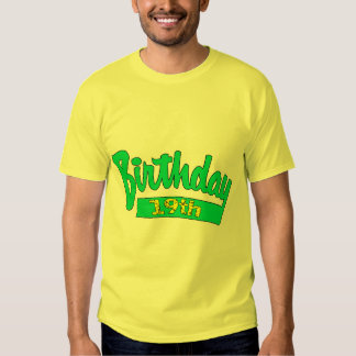 My 19th Birthday Gifts T Shirts