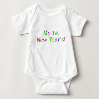 My 1st New Year's! Baby Bodysuit
