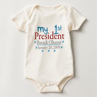 My 1st President (Barack Obama) Baby Bodysuit