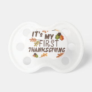 My 1st Thanksgiving Pacifier