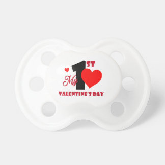 My 1st Valentine's Day Pacifier Baby Gift