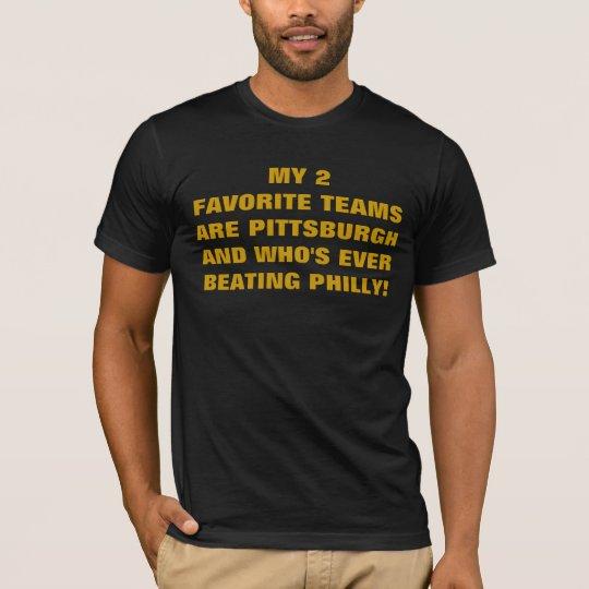 MY 2 FAVORITE TEAMS T-Shirt