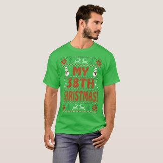 My 38th Christmas Ugly Sweater Gift Tshirt