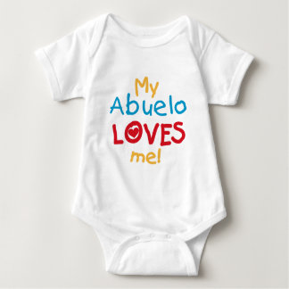 My Abuelo Loves Me T shirts and Gifts