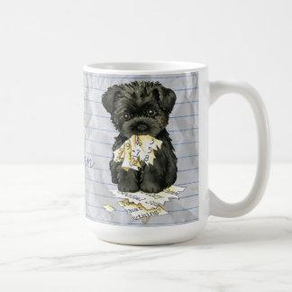 My Affenpinscher Ate my Lesson Plan Coffee Mug