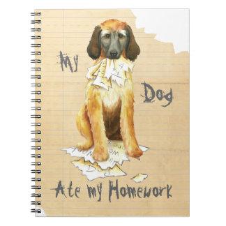 My Afghan Hound Ate my Homework Notebooks
