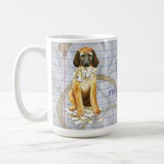 My Afghan Hound Ate my Lesson Plan Coffee Mug