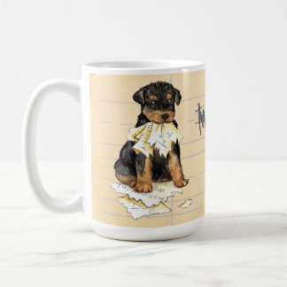 My Airedale Ate My Homework Coffee Mug
