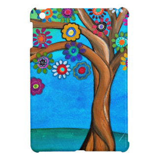 MY ALLY TREE OF LIFE WHIMSICAL PAINTING CASE FOR THE iPad MINI