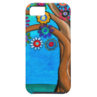 MY ALLY TREE OF LIFE WHIMSICAL PAINTING iPhone 5 COVERS