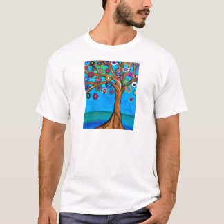 MY ALLY TREE OF LIFE WHIMSICAL PAINTING T-Shirt