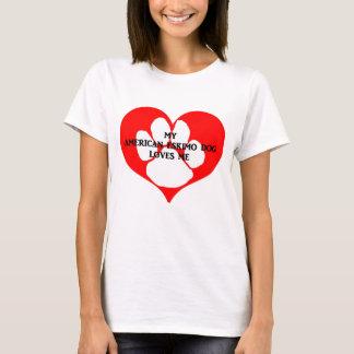 my american eskimo loves me T-Shirt