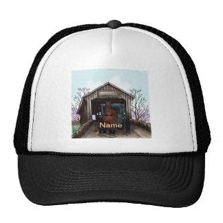 My Amish Covered Bridge Trucker Hat