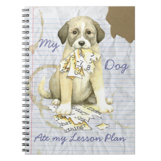 My Anatolian Ate My Lesson Plan Notebook