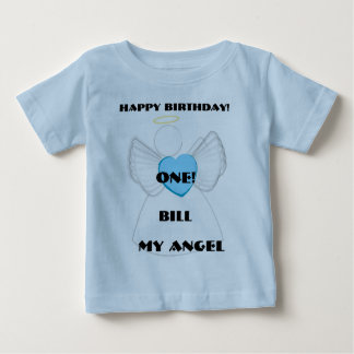 My Angel 1st Birthday-Customize Baby T-Shirt