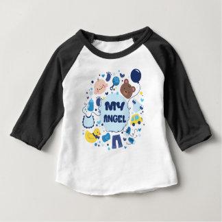 My angel baby sleeve raglan baby T-Shirt