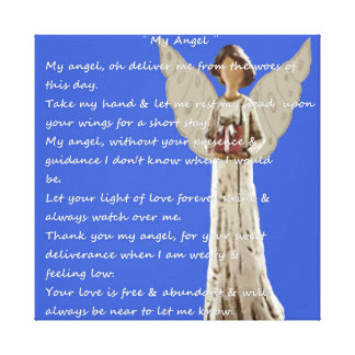 My Angel. Canvas Print