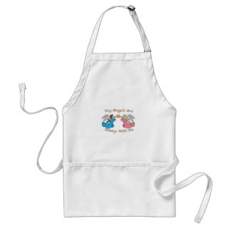 My Angels Are Always With Me Aprons