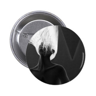 My Anxiety - Self Portrait 2 Inch Round Button