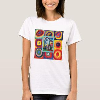 My Artful Blue Horse T-Shirt