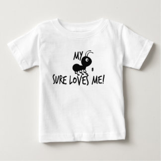 My Aunt B Sure Loves Me! Baby T-Shirt