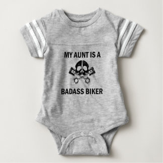 My Aunt Is A Badass Biker Baby Bodysuit