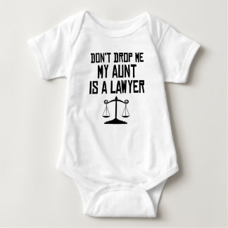 My Aunt Is A Lawyer Baby Bodysuit