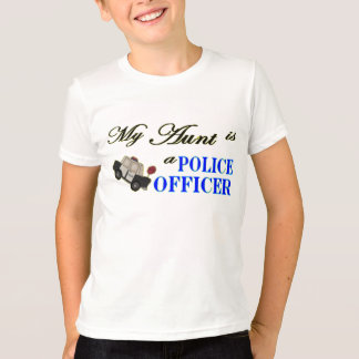 My Aunt is a Police Officer T-Shirt