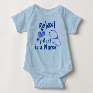 My Aunt is Nurse Baby Bodysuit