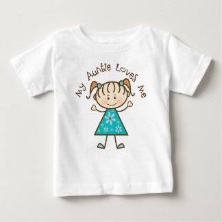 My Aunt Loves Me Gift Baby T-Shirt