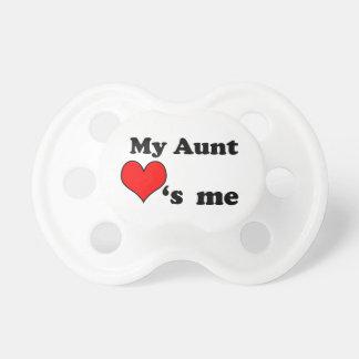 My Aunt loves me Pacifier
