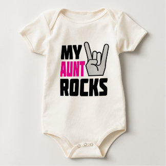 My Aunt Rocks Baby Bodysuit