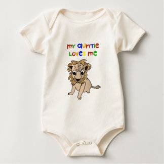 My Auntie Loves Me Baby Bodysuit