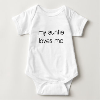My Auntie Loves Me.png Baby Bodysuit