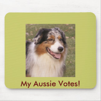 My Aussie Votes! Mouse Pad
