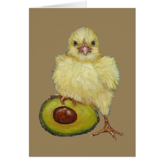 My Avocado greeting card