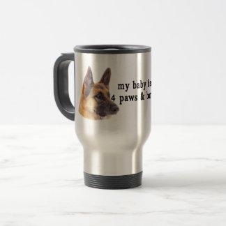 My Baby is a German Shepherds Travel Mug