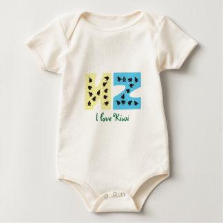 My baby: Kiwi Baby Bodysuit
